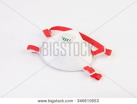 Safety Face Mask Isolated On White Background