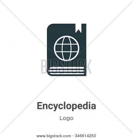 Encyclopedia icon isolated on white background from logo collection. Encyclopedia icon trendy and mo