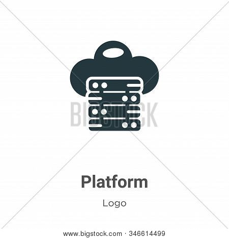 Platform icon isolated on white background from logo collection. Platform icon trendy and modern Pla