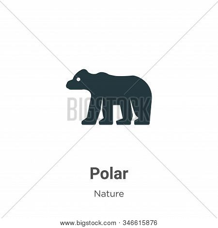 Polar icon isolated on white background from nature collection. Polar icon trendy and modern Polar s