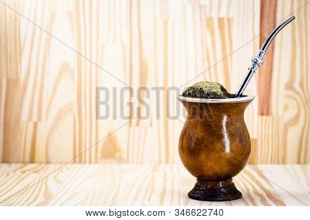 Chimarrão, Or Mate, Is A Characteristic Drink Of The Culture Of Southern South America Bequeathed By