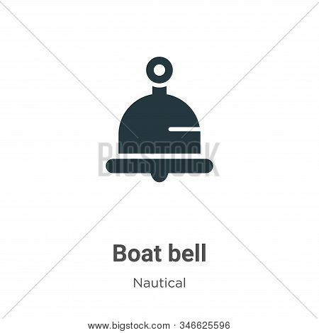Boat bell icon isolated on white background from nautical collection. Boat bell icon trendy and mode