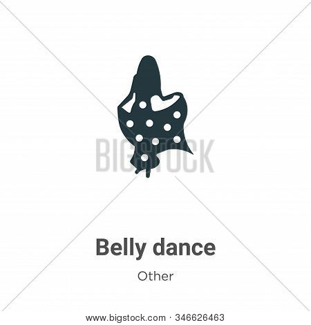 Belly dance icon isolated on white background from other collection. Belly dance icon trendy and mod