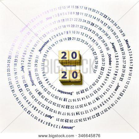 2020 On Cubes, On A The Eternal Calendar
