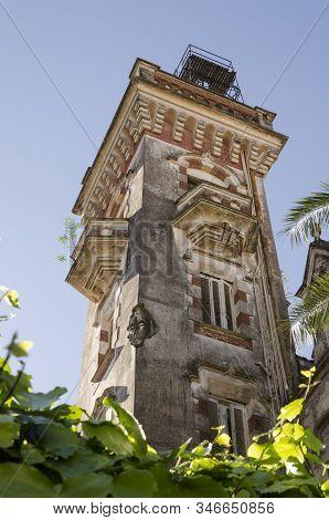 San Fernando, Buenos Aires / Argentina; Sept 16, 2014: Belgrano Palace Or Otamendi Palace Tower, An