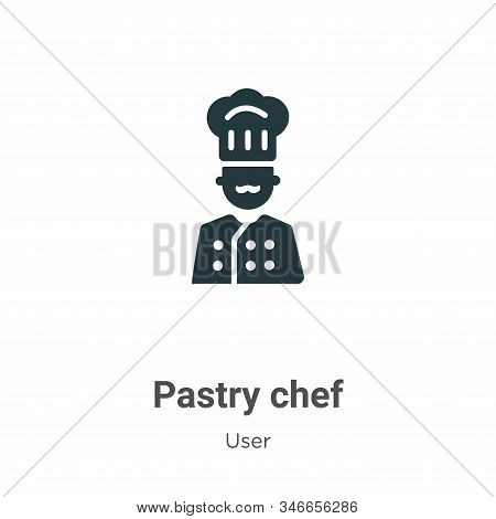 Pastry chef icon isolated on white background from user collection. Pastry chef icon trendy and mode