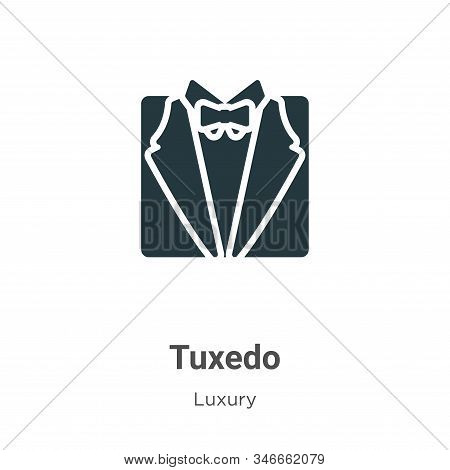 Tuxedo icon isolated on white background from luxury collection. Tuxedo icon trendy and modern Tuxed