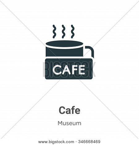 Cafe icon isolated on white background from museum collection. Cafe icon trendy and modern Cafe symb