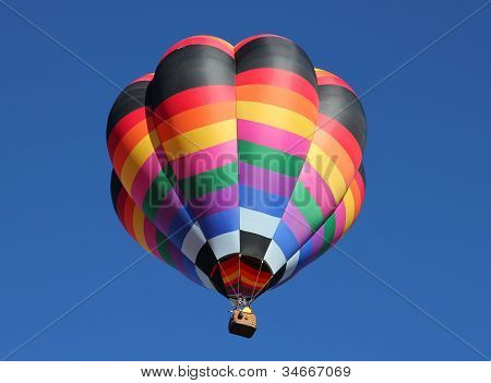 A Colorful Hot Air Balloon