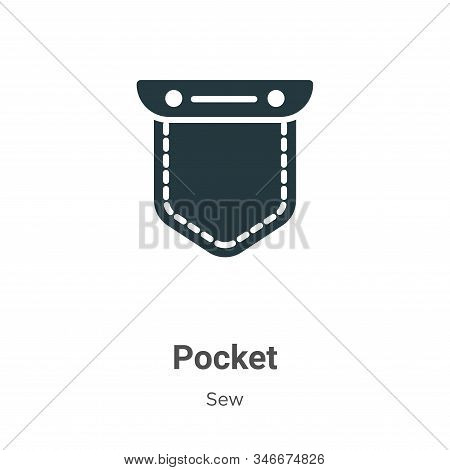 Pocket icon isolated on white background from sew collection. Pocket icon trendy and modern Pocket s