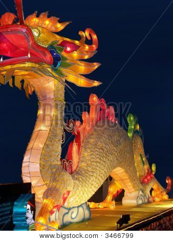 Lantern Festival In Toronto, Chinese Dragon