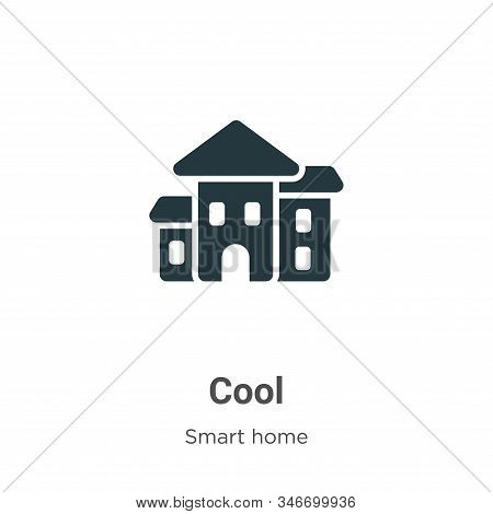 Cool icon isolated on white background from smart house collection. Cool icon trendy and modern Cool