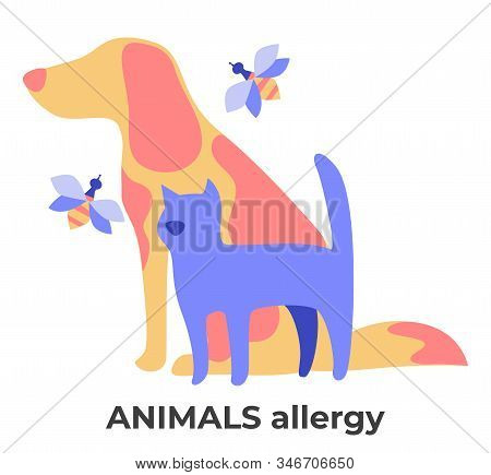 Dog And Cat Fur, Bee Stings Allergy, Animal Allergens