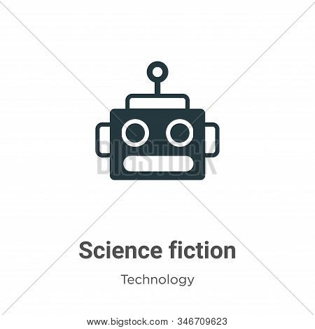 Science fiction icon isolated on white background from technology collection. Science fiction icon t