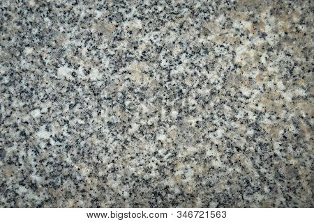 Granite Surface Texture For Background, Detail Of The Polished Granite Texture