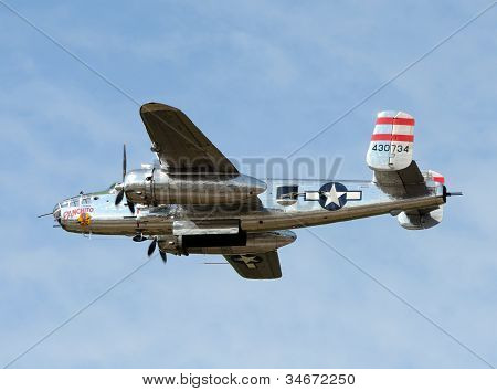 World War Ii Era B-25 Bomber