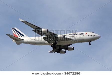 Air France Boeing 747 Jumbo Jet