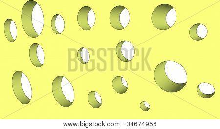 circular pattern in 3d