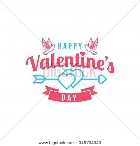 valentine, valentine day, Valentines Day background, Valentine's day banners, Valentines Day flyer, Valentines Day design, Valentines Day with Heart on white background, Copy space text area, vector illustration.