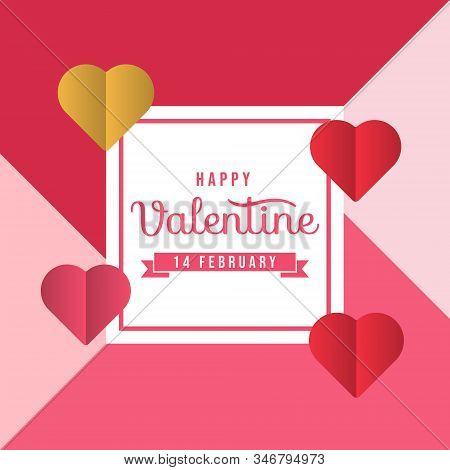 Happy Valentines Day card with hearts vector illustration. Valentines day background. Valentine, valentine day, Valentines Day background, Valentine's day banners, Valentines Day flyer, Valentines Day design, Valentine Day. valentine vector