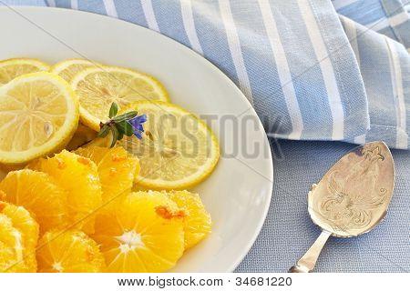 Citrus Fruit Sliced