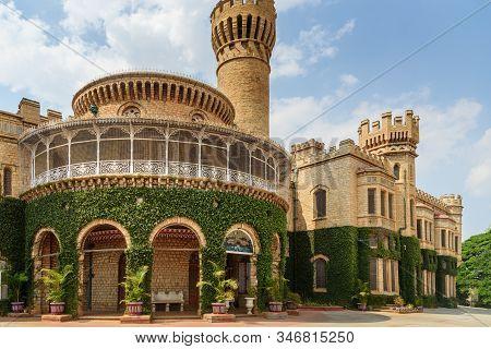 Bangalore Royal Palace And Garden In Bangalore. India