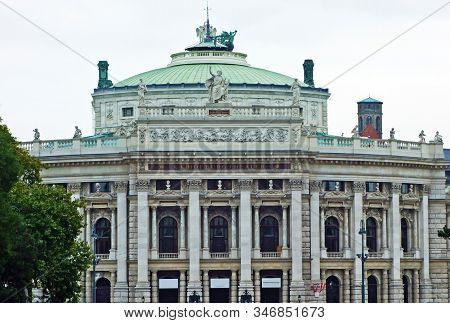 Imperial Court Theatre Or The Burgtheater (k.k. Hofburgtheater Oder K.k. Theater An Der Burg, Wien)