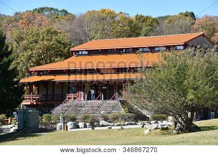 Carmel Hamlet, Ny - Oct 6: Chuang Yen Monastery In Carmel Hamlet In New York, As Seen On Oct 6, 2019