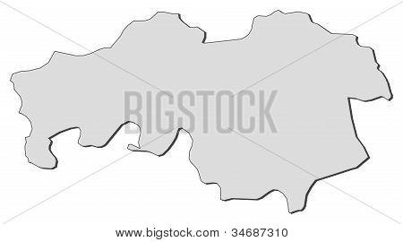 Map Of North Brabant (netherlands)