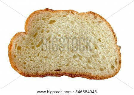 A Piece Of Bread. Slice Of Bread. Bread Isolate. Butter Baking Texture. High-calorie Nutrition. Baki