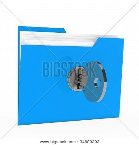 Folder With Key