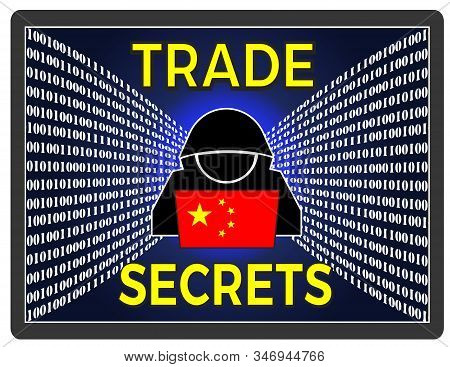 Chinese Theft Of Trade Secrets. Economic Espionage And Stealing Of Intellectual Property