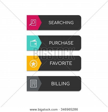 Web And Ui Application Color Button Icon For Modern Website