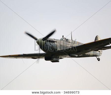 Spitfire Close Up