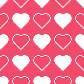 Love seamless pattern. Hearts pattern. Love pattern. Valentines day background vector illustration. Love vector colorful graphic texture with heart shapes. Love romantic theme. Valentine's Day Pattern design. Wedding pattern.