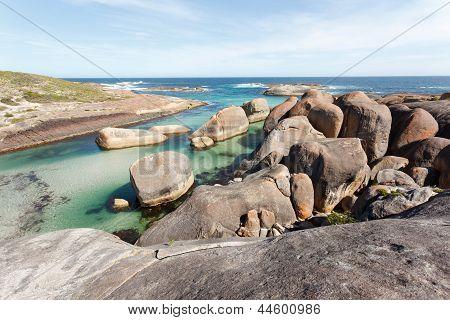 Turquise Blue Beach Of West Australia