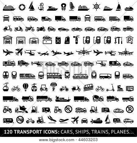Ícone de transporte 120