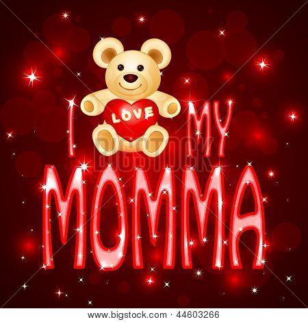 Love you Mumma card