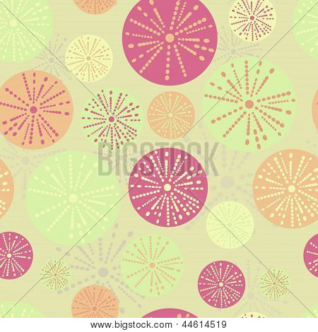 Vector flower pattern.