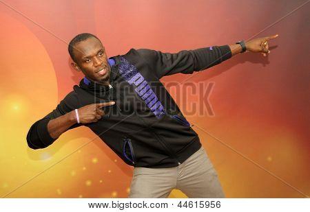 Atleta campione del mondo Usain Bolt