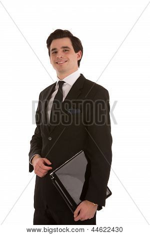 Smiling Successful Business Man