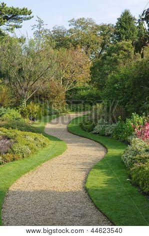 Serpentine Garden Path