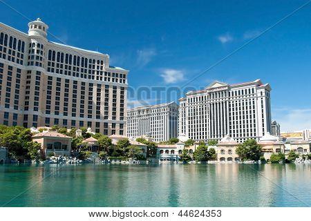 Caesars Palace Hotel On The Las Vegas Strip In Nevada
