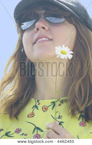 The Nice Girl With A Camomile Iii