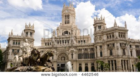 Cibeles Statue In Madrid