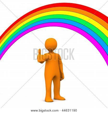 Manikin Rainbow Ok