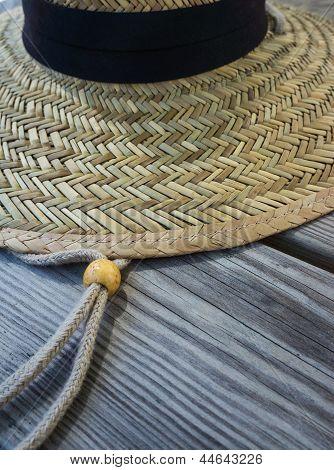 Straw Hat Deatail