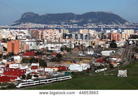View Of Algeciras, Spain