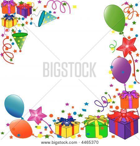 Фон для открытки с днем рождения детям 5