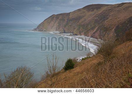 Lynmouth Bay Devon England